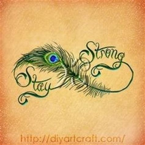 stay strong infinity tattoo 45 amazing infinity wonderful feather tattoos golfian