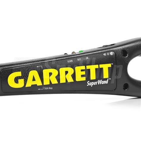 Garret Metal Detector Wand 969 garrett scanner metal detector wand