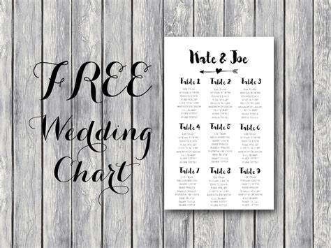 Free Wedding Seating Chart Template Printable Free Arrow Wedding Seating Chart Template Bride Bows