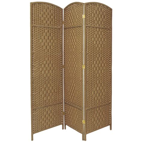 ebay room dividers 6 ft weave fiber room divider ebay