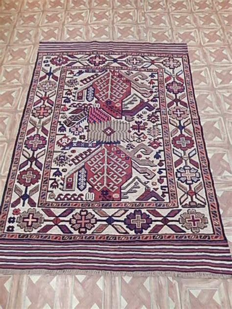 Rugs Nyc Cheap by 4x6 188x124 Cm Balcony Room Handmade Baluch Rugs Nyc Rug
