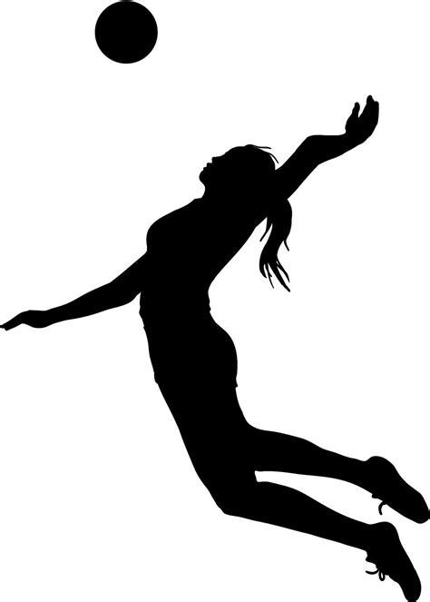 clipart pallavolo silhouette clip 101 clip