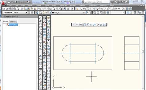 tutorial autocad mechanical tutorial como dibujar y cambiar la escala de las lineas de
