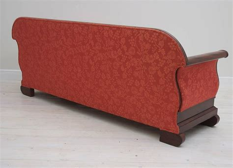sleigh sofa american empire sleigh sofa in mahogany attributable to