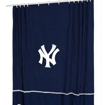 yankee curtains ny yankees shower curtain