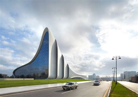 designboom zaha hadid new images of heydar aliyev center by zaha hadid