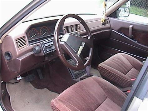 mitsubishi cordia interior interior car designer here doing some research what do