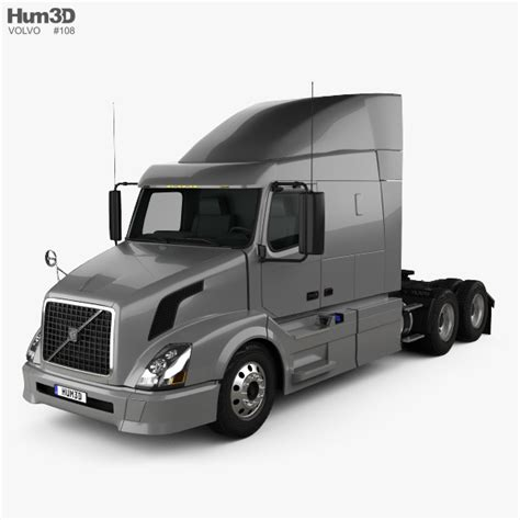 volvo vnl  tractor truck   model vehicles  humd