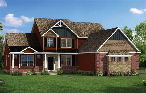 bristol home plan new home plans in howell mi
