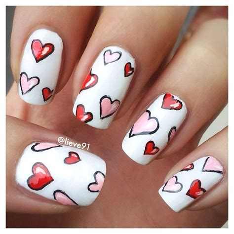 nails for valentines day 22 nail designs for your s day pretty