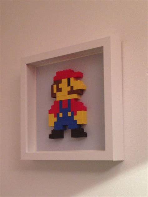 Lego Wall Decor by Mario Lego Wall