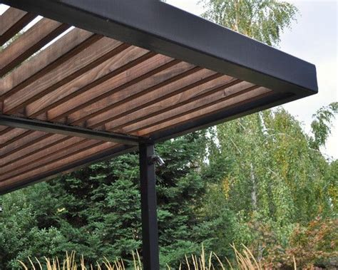 Would Be Beautiful Outside With Vines Growing Up The Sides Modern Pergola Designs