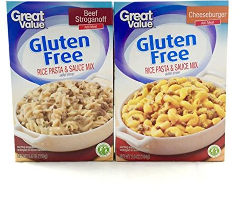 gluten free pasta bundle beef stroganoff and cheeseburger food beverages tobacco food items