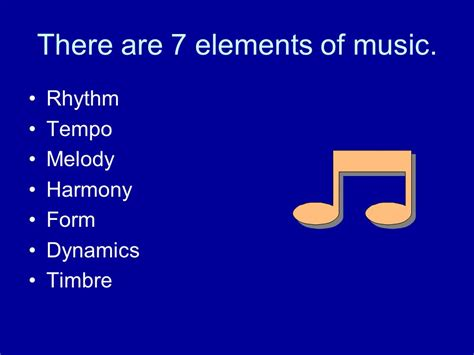 elements music elements of music more ppt video online download
