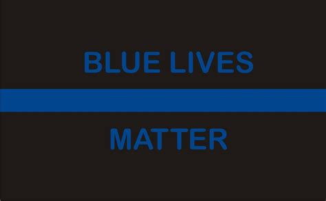 blue lives matter in the line of duty books thin blue line blue lives matter reflective rectangle decal