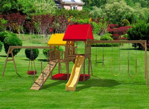swing sets with sandbox 17 best images about swingsets on pinterest cubby houses