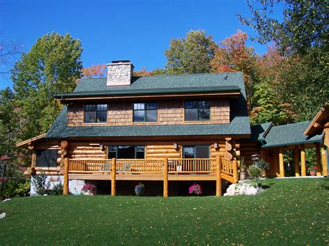Handcrafted Homes Inc - photo gallery timber wolf handcrafted log homes inc