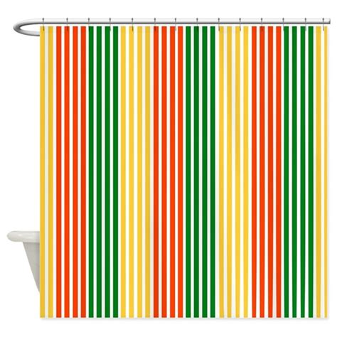 rasta curtains rasta stripes shower curtain by customdesignstore