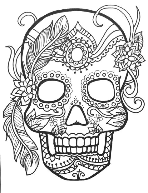day of the dead skull coloring pages greatest sugar skull mandala coloring pages 10 6821