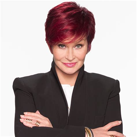 what does sharon ozbournes hair look like in the back sharon osbourne returns triumphantly to the talk jewish