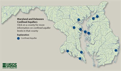 maryland aquifer map confined aquifer water table usgs water