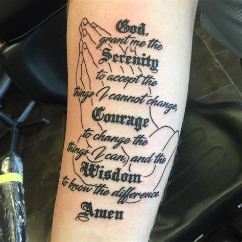 small serenity prayer tattoo 55 inspiring serenity prayer designs serenity