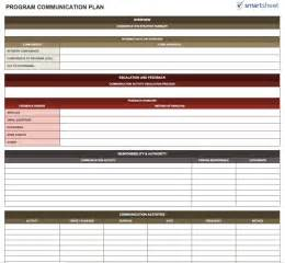 Free Program Management Templates by 14 Free Program Management Templates Smartsheet