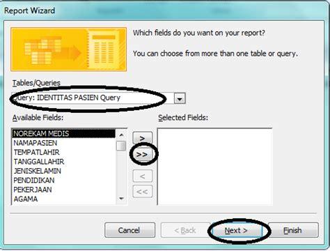 cara membuat query wizard yang benar sabrina bhina cara membuat form report wizard qwery
