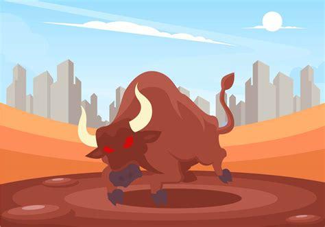 Bull Rage Bull Rage Vector Free Vector Stock Graphics Images