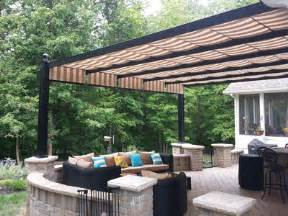 Patio Awnings And Shade Structures by Residential Retractable Canopies And Shade Canopies