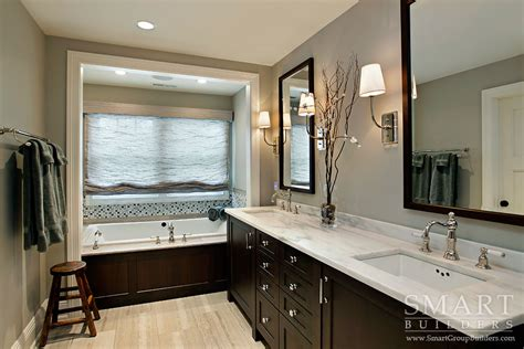 Craftsman Style Bathroom Ideas by Contemporary Craftsman Style Custom Home Master Bathroom