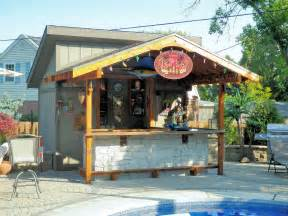 Custom outdoor bars and grills custom outdoor structures