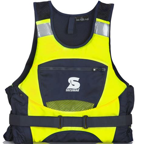 reddingsvest geel secumar zeil zwemvest jump pro geel blauw zwemvesten nl