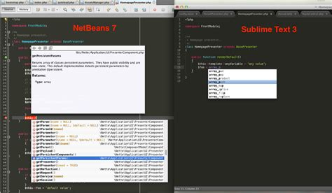 vim omni completion pattern not found python sublime text 3 hints as in netbeans