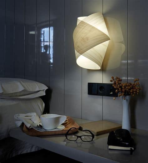wandleuchte schlafzimmer wandleuchte aus holz 55 designer len
