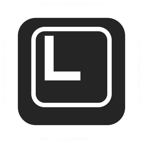 Keyboard L by Keyboard Key L Icon Iconexperience Professional Icons