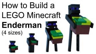 How to build lego minecraft enderman youtube