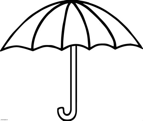 umbrella coloring pages printable umbrella coloring page 505