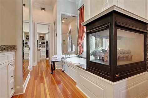 Fireplace In Bedroom And Bathroom 18 Master Bathrooms With Fireplaces Pictures