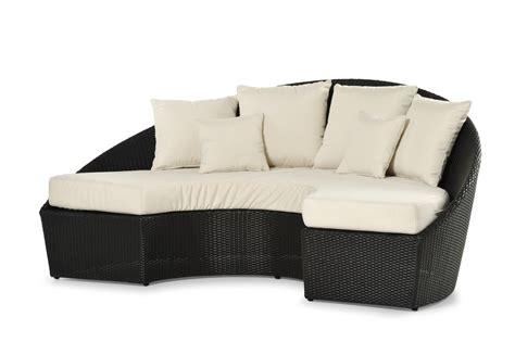 divano da esterno semicircolare arena