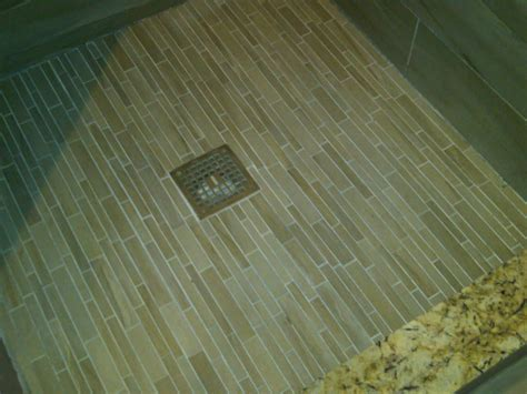 Mosaic Tile Shower Floor by Cape Coddin In Indiana Tiles Carpets Tiles Carpets