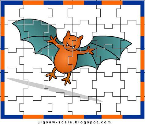 printable jigsaw puzzle for kids burger jigsaw printable jigsaw puzzle for kids bat jigsaw