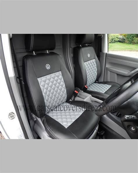 vw caddy bench seat volkswagen vw caddy black grey seat covers car seat