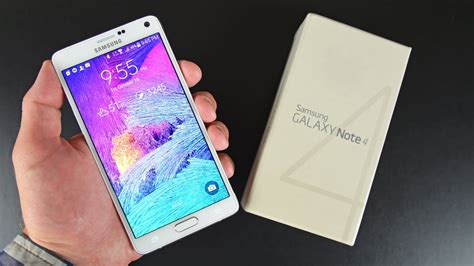 samsung galaxy note 4 unboxing review