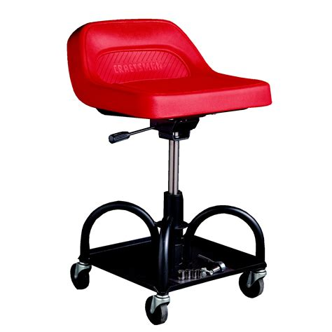 Craftsman Rolling Stool by Creeper Seat Mechanics Adjustable Keep Rolling At Sears