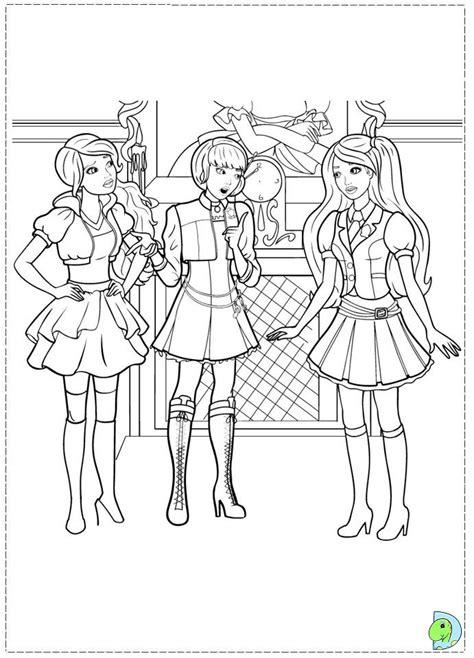 coloring pages princess charm school princess charm school free coloring pages