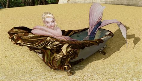 archeage fashion mermaid bathtub