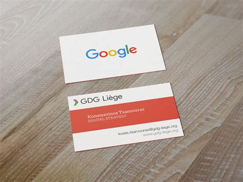google design cards google business card design google developers group cards