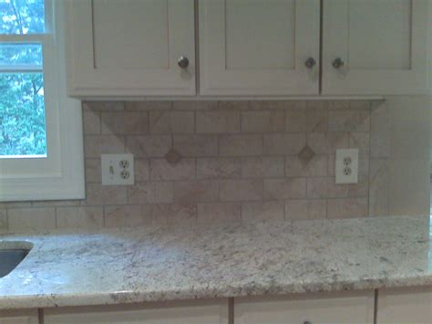 fresh white subway tile backsplash border 8324