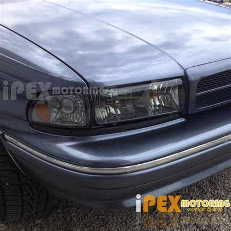 1996 impala ss headlights 1991 1996 chevy caprice 1994 1996 impala smoke headlights